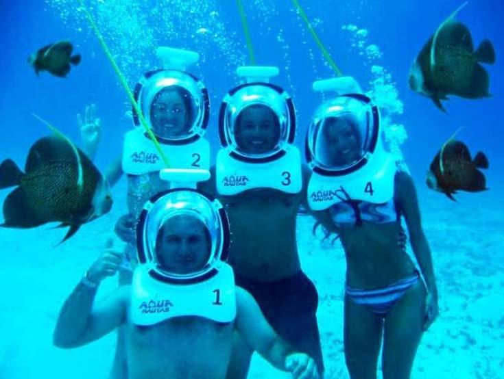 Caminata bajo el agua san andr s colombia4u for El hotel que esta debajo del agua