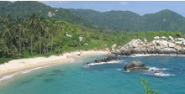 Tour to Neguanje & Crystal Beach in Tayrona Park